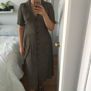 Urban Outfitters Button Up Dress